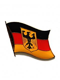 Anstecker Deutschland mit Wappen