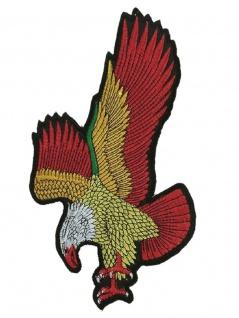 Aufnäher Landender Adler