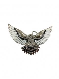 Gürtelschnalle Adler fliegend