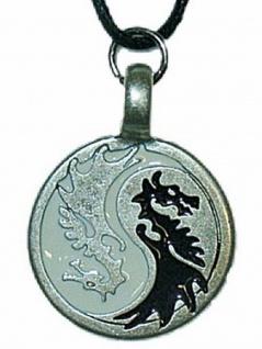 Halskette Drachen Yin Yang