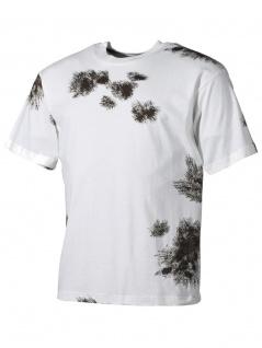 US Army T-Shirt Bundeswehr Winter tarn