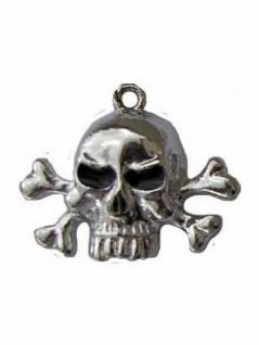 Metallkette mit Anhänger Dead Head