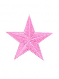 Aufbügler rosa Stern