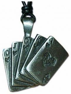 Halskette Spielkarten