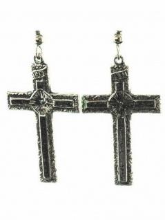 Ohrring Kreuz