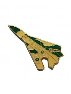 Anstecker Pin Militärflugzeug