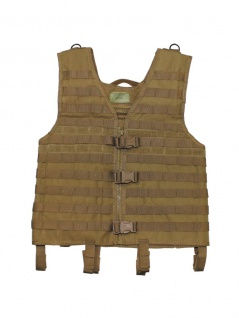 Armee Weste Molle coyote tan mit Modular System