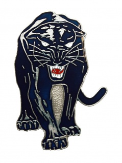 Anstecker Pin Schwarzer Panther