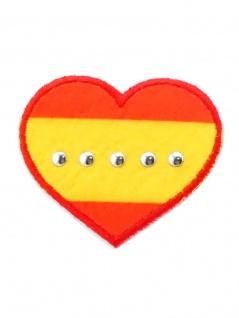 Aufbügler Herz Spanien