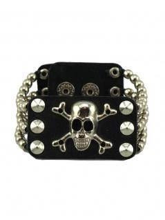 Leder Armband Gothica