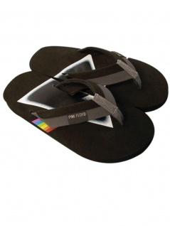 Badelatschen Pink Floyd schwarz