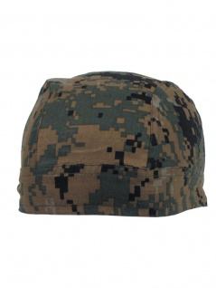 Bandana Headwrap Cap digital woodland