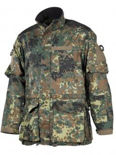 Bundeswehr Einsatz Kampfjacke flecktarn lang