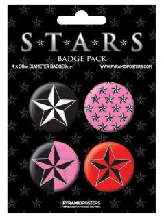 Button Set Stars