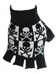 Fingerloser Handschuhe Gothic