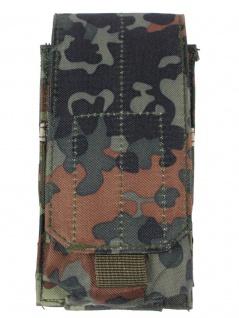 Magazintasche einfach MOLLE Modular System flecktarn
