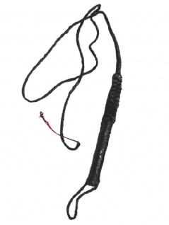 lange Leder Peitsche