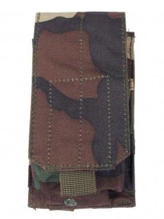 Magazintasche einfach MOLLE Modular System woodland