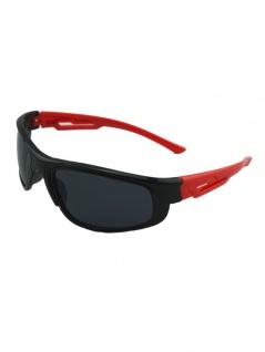 Kinder Sonnenbrille schwarz rot