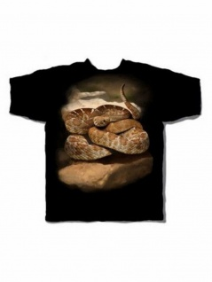 T-Shirt Klapperschlange