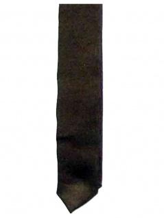 Krawatte schwarz schmal