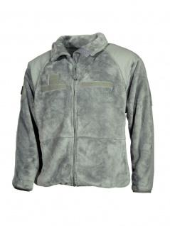 US Fleece-Jacke grau