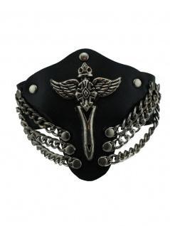 Leder Armband Wings