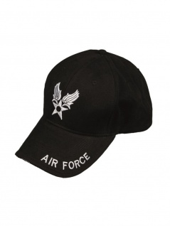 Baseball Cap Air Force schwarz