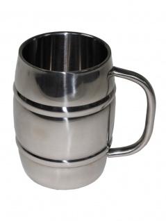 Edelstahl Becher Fass 1 Liter