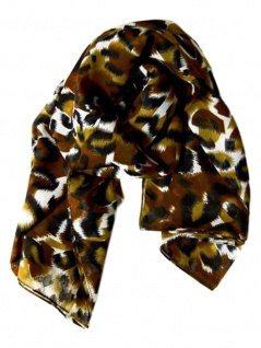 Polyester Tuch Leopard Fell
