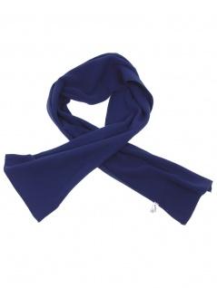 Fleece Schal blau