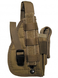Pistolenholster Molle System coyote tan