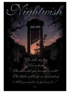 Nightwish Poster Fahne Fall