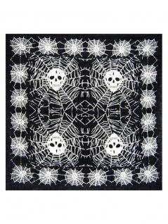 Bandana Spider Skull