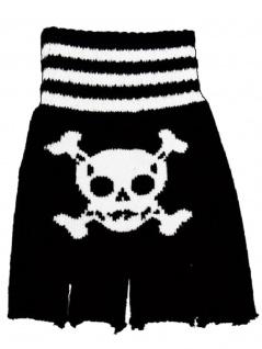 Fingerlose Handschuhe Piraten