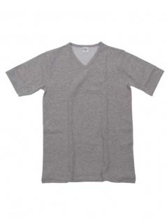 Thermo kurzarm Unterhemd grau