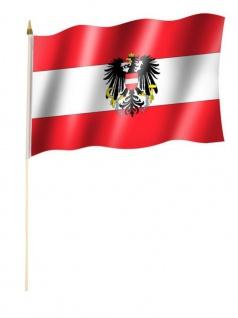 Stockfahne Österreich Adler