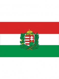 Fahne Ungarn Wappen