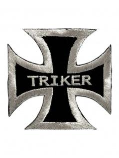 Aufnäher Eisernes Kreuz Triker