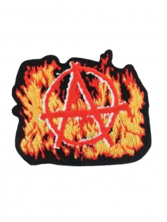 Aufbügler Anarchy with flames
