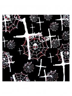 Bandana Spider Skulls