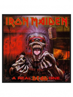 Aufnäher Iron Maiden A Real Dead One