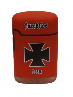 Easy Torch Sturmfeuerzeug Eisernes Kreuz rot