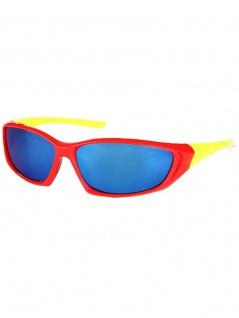 Kinder Sonnenbrille rot gelb verspiegelt