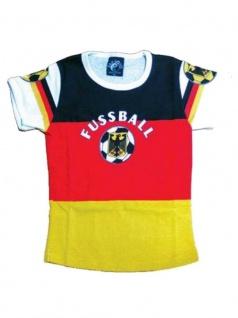 T-Shirt Fussball Deutschland