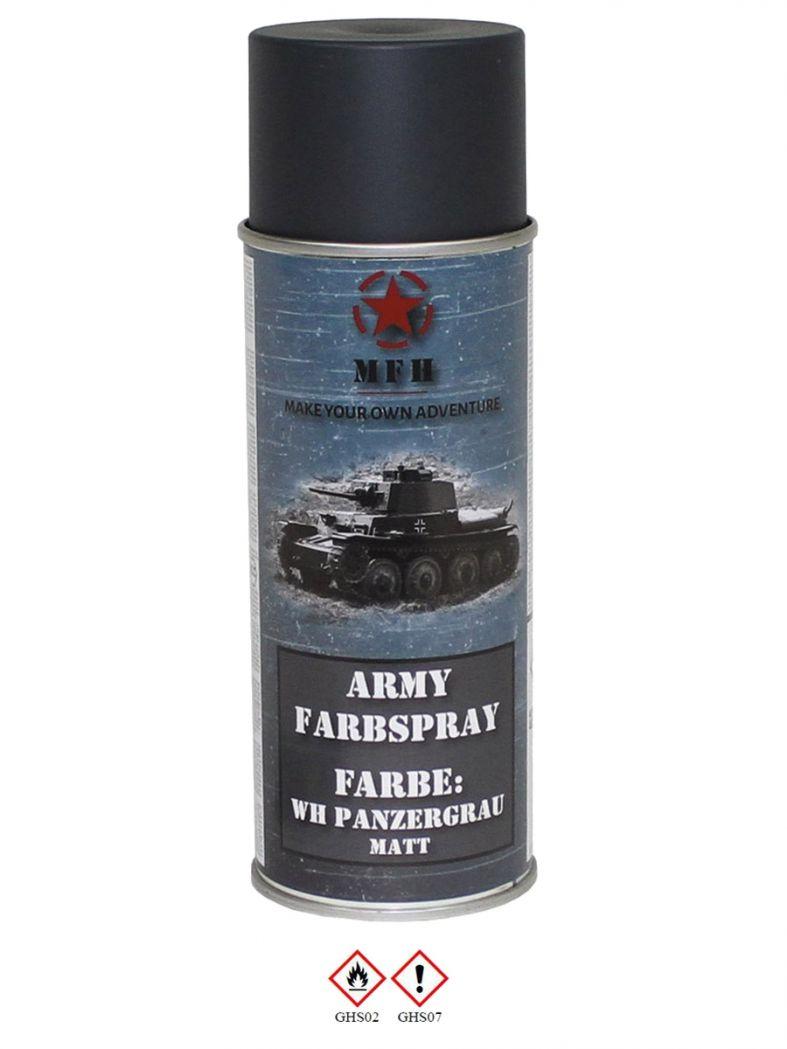 militär lack spraydose wh panzergrau matt - kaufen bei armardi gmbh