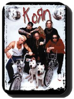 3 Aufkleber Korn Cover