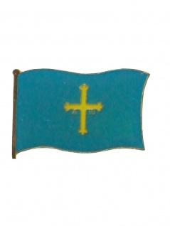 Emaille Pin Asturia