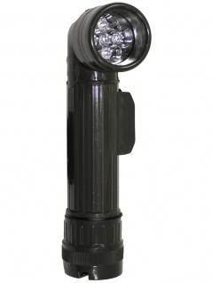 US Army Taschenlampe groß oliv LED