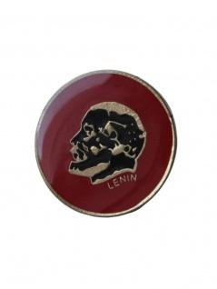 Anstecker Pin Lenin Münze